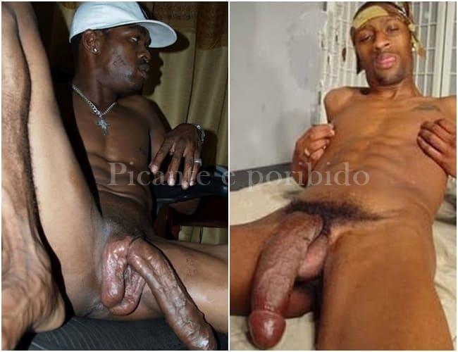 Fotos de pênis negros de homens pauzudos