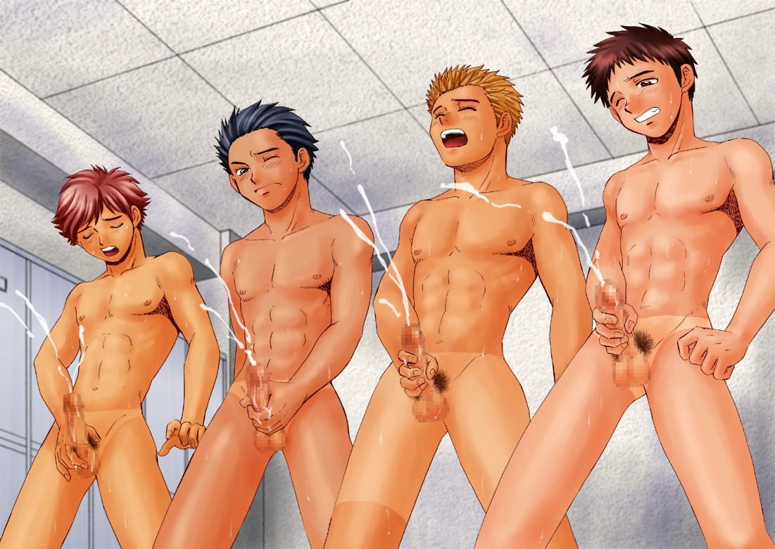 Hentai gay com novinhos gozando muito